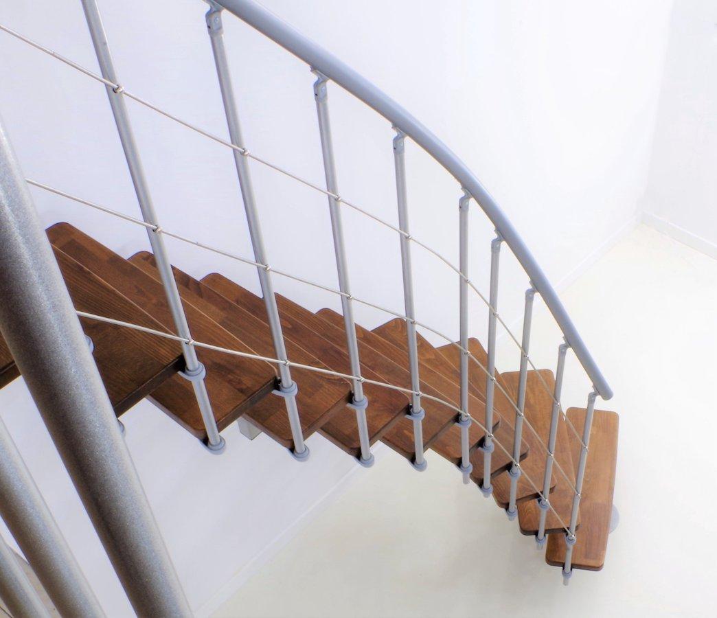 Mediniai laiptai Minka Comfort 13/259-336, 12 pakopų