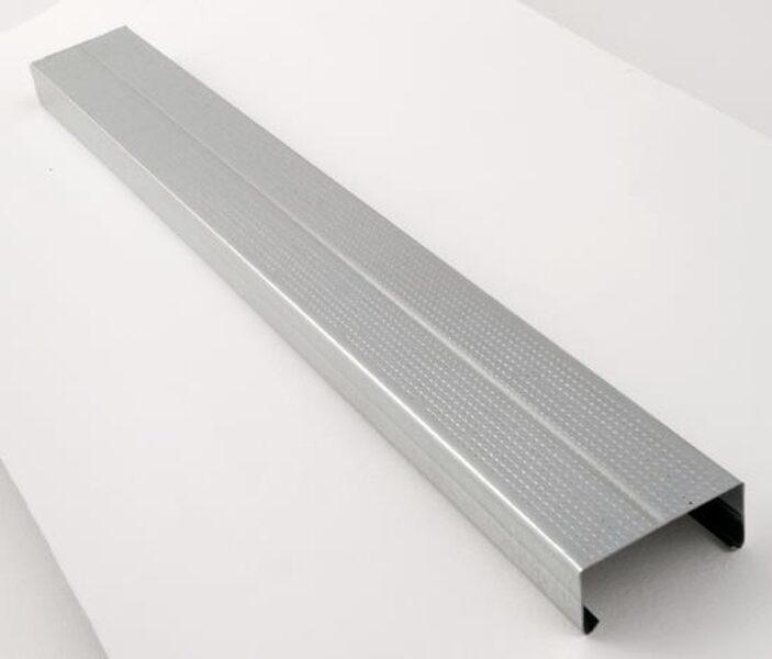 METALINIS PROFILIS PROFILINE 10/350, CD, 4000 X 60 X 27 MM PROFILINE