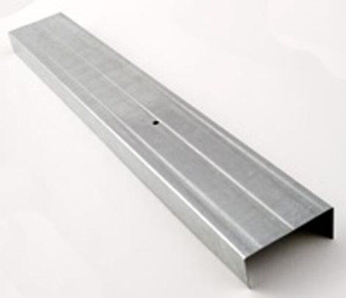 METALINIS PROFILIS PROFILINE 10/150, UW, 3000 X 100 X 30 MM PROFILINE