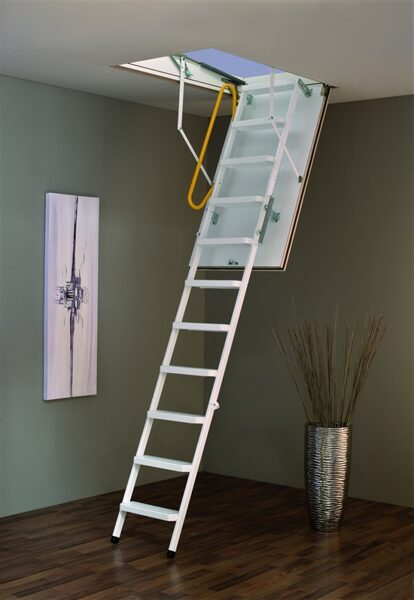Sudedamieji laiptai Bodentreppe Steel 120 X 70 X 280 cm MINKA