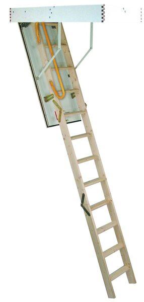 Sudedamieji laiptai Tradition Plus 120x70x280 cm MINKA