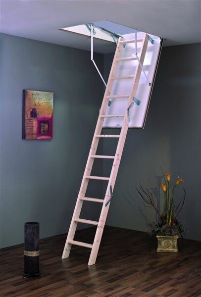 "Sudedamieji laiptai ""Mc Step"" 120X70X280 cm MINKA"