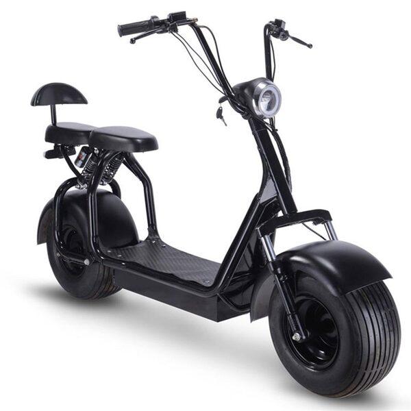 Elektrinis motoroleris QS-02, 1000 W
