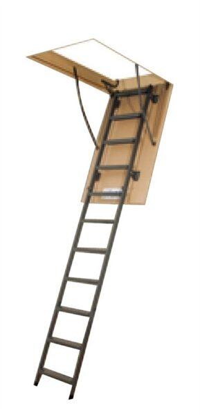 Sulenkiamieji laiptai Fakro, lwm/lms, 70x120/270 cm FAKRO