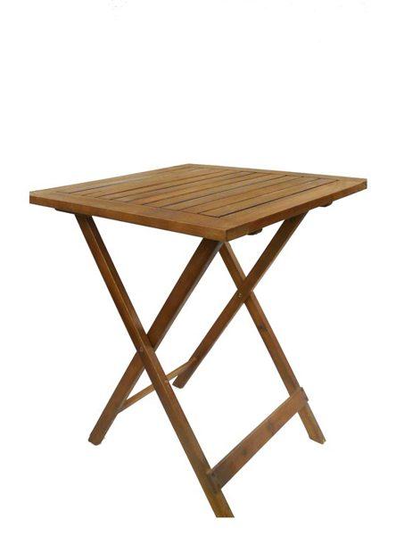 Medinis lauko stalas Fold