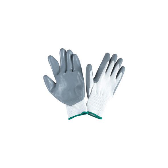 Pirštinės, padengtos nitrilu, M-XL dydis 12 VNT.