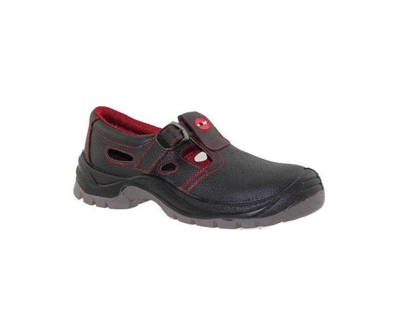 Vyriški darbiniai sandalai, be aulo, juodi, 42-47 dydis