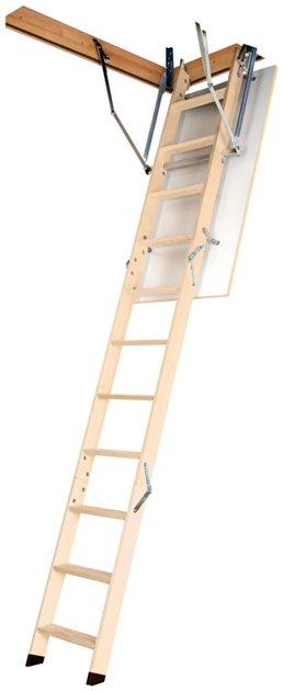 Sudedamieji laiptai OLK-B, 70x120/280 cm