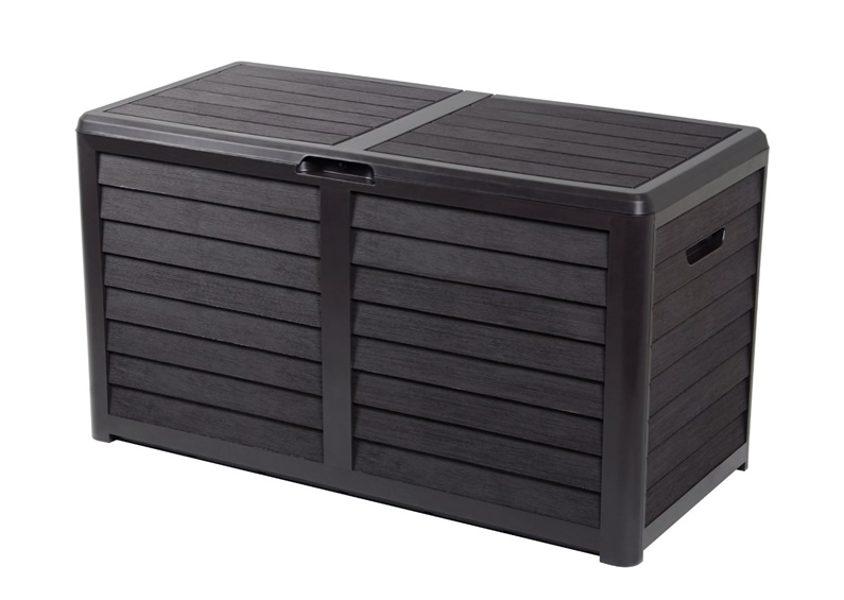 Dėžė sodo daiktams, 420 l, plastikas