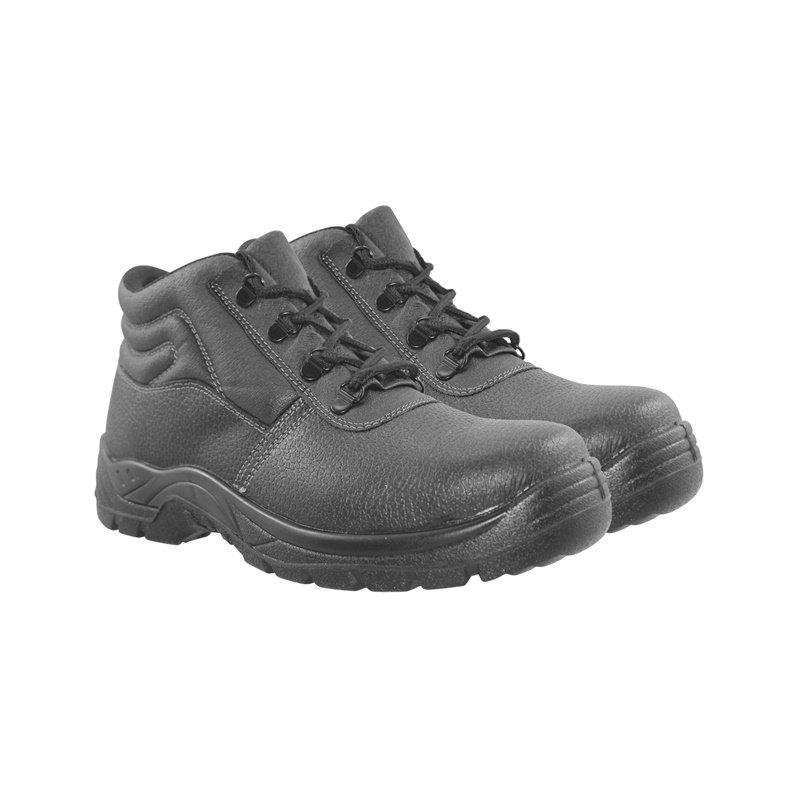 Vyriški pašiltinti darbiniai batai, be aulo, juodi, 41-47 dydis