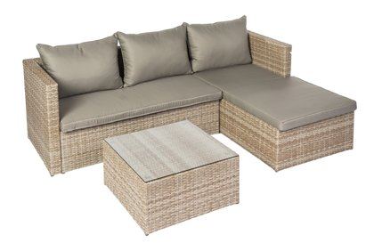 Sodo baldų komplektas Domoletti Sicily Brown J5063 DOMOLETTI