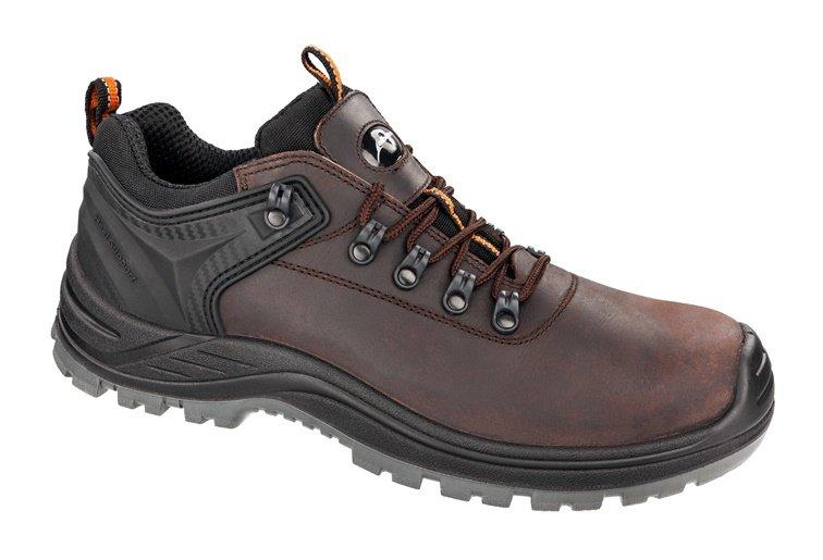 Vyriški darbiniai batai Albatros, be aulo, rudi, 42-44 dydis ALBATROS