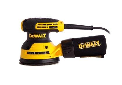 Elektrinis ekscentrinis šlifuoklis Dewalt 6423-QS, 280 W DEWALT