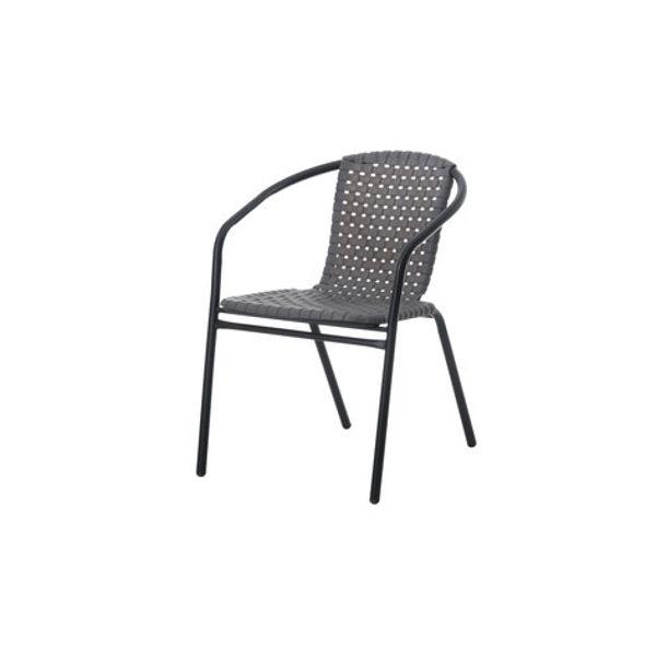 Sodo kėdė 313691, pilka