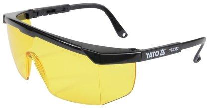 Apsauginiai akiniai TYPE 9844 geltono stiklo Yato