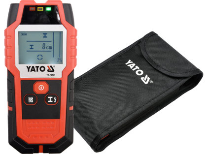 Detektorius metalui, srovei ir profiliams Yato