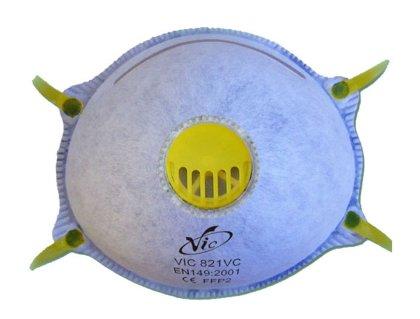 Respiratorius su vožtuvu VIC821VC FFP2
