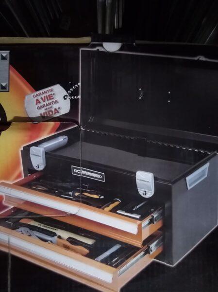Įrankių komplektas su dėže 45vnt MAGNUSSON