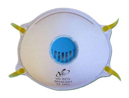Respiratorius su vožtuvu VIC821V FFP2