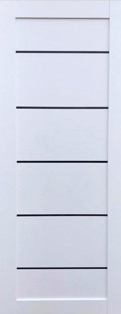 NERSOFIS Balta su juodais intarpais