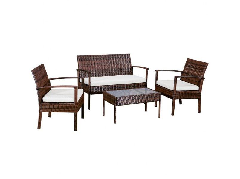 Sodo baldų komplektas Lisa 47215 Wenge
