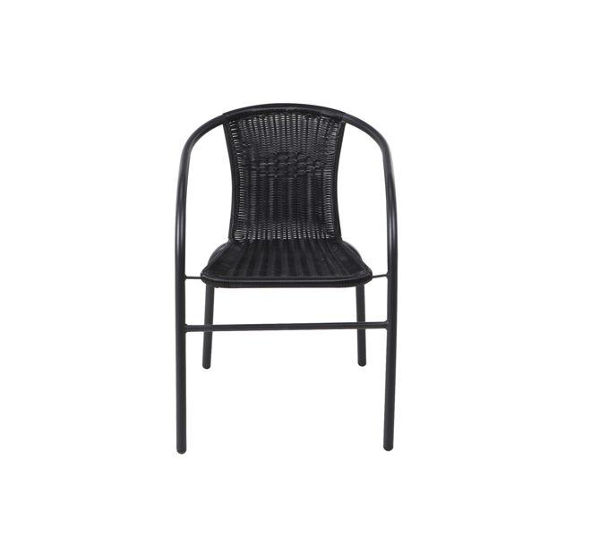 Sodo kėdė Bistro juoda