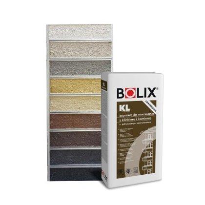 Mūro mišinys klinkeriui Bolix KL (spalvotas)